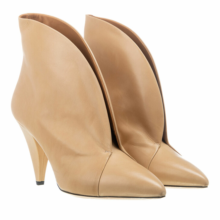 Schuh, Isabel Marant, Arfee Ankle Boots Leather Beige