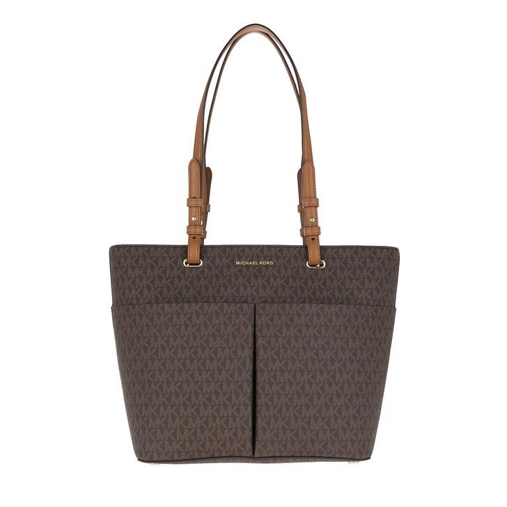 Handtasche, MICHAEL Michael Kors, Bedford Medium Pocket Tote Bag Brown/Acorn