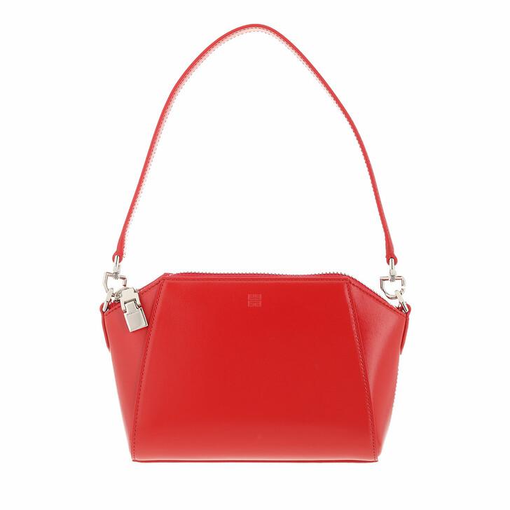 bags, Givenchy, XS Antigona Crossbody Bag Leather Red