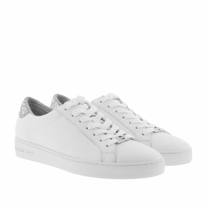 Schuh, MICHAEL Michael Kors, Irving Lace Up Sneaker Optic White/Silver