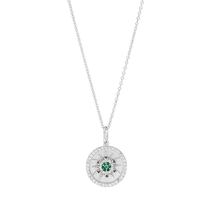 Kette, Leaf, Windrose Necklace Silver