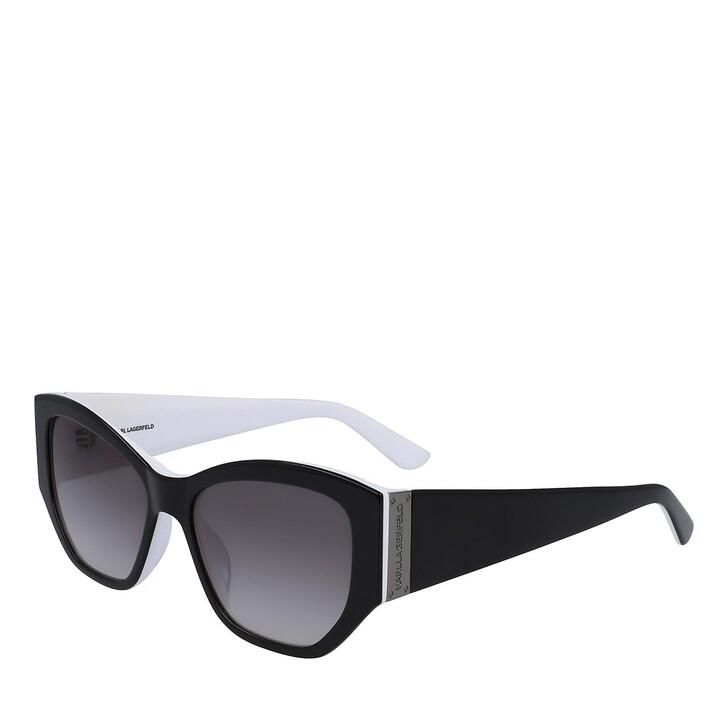 sunglasses, Karl Lagerfeld, KL6040S BLACK/WHITE