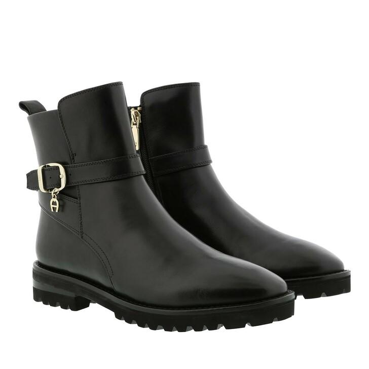shoes, AIGNER, AVA 15A Black