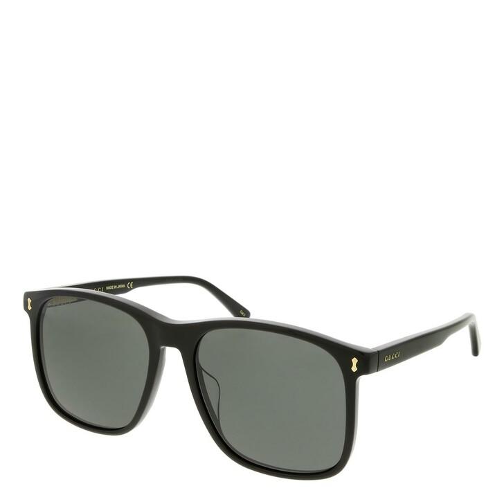 sunglasses, Gucci, GG1041S-001 57 Sunglass Man Acetate Black-Black-Grey