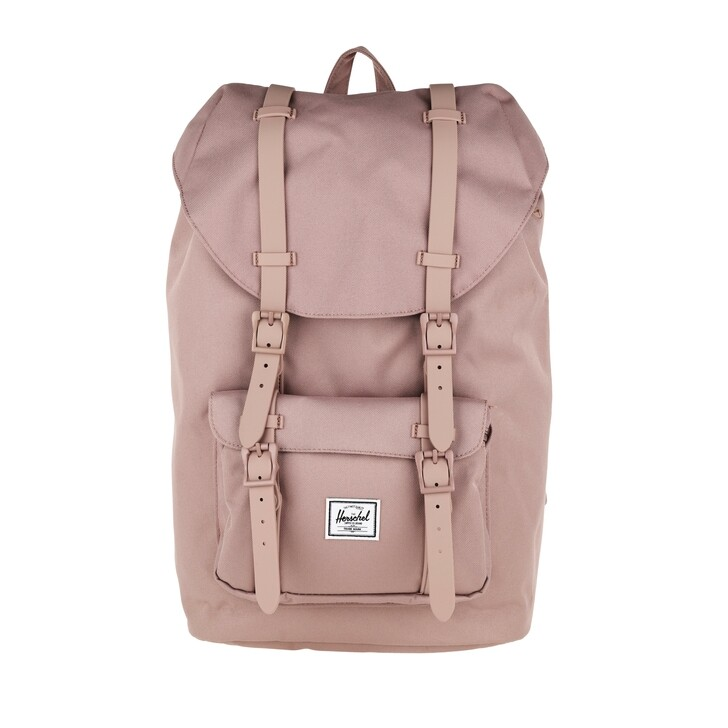 bags, Herschel, Little America Mid-Volume Backpack Ash Rose