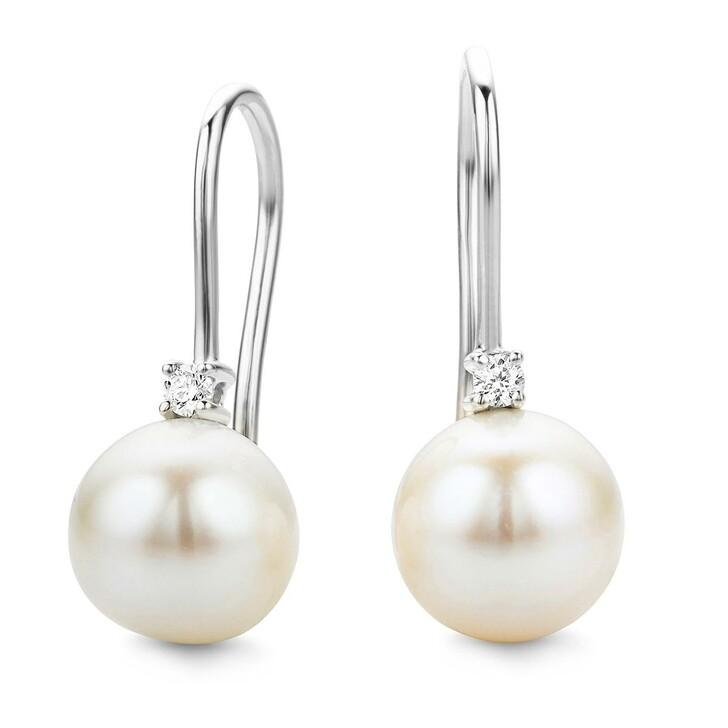 "Ohrring, DIAMADA, Earrings ""The Inspirational One"" 14KT White Gold"