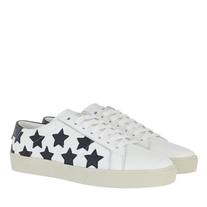 Schuh, Saint Laurent, Court Classic Sneakers White/Navy