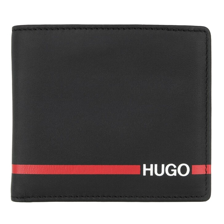 Geldbörse, Hugo, Austen 4 cc coin Wallet Black