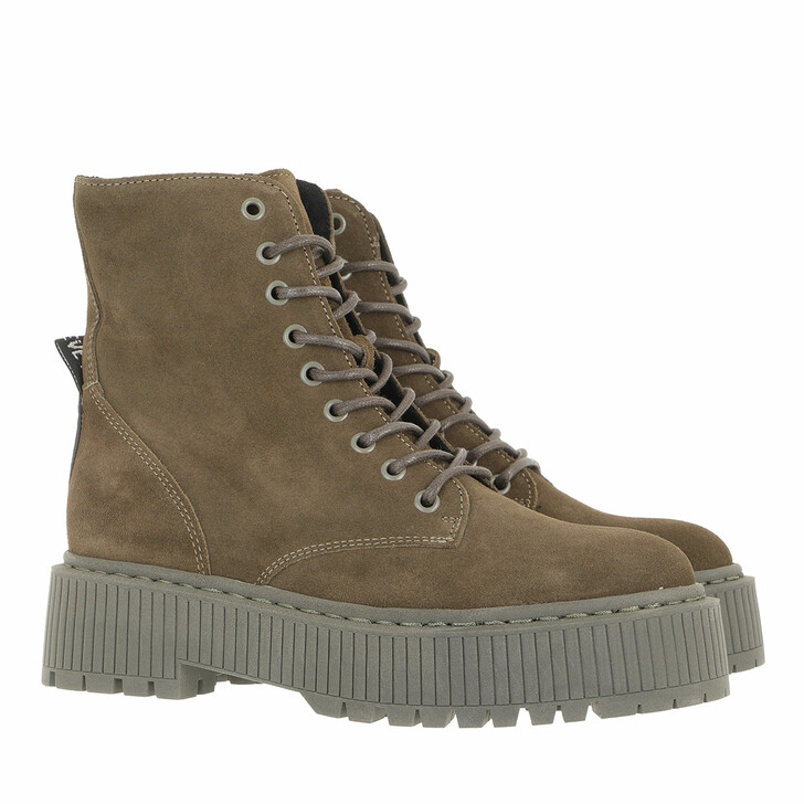shoes, Steve Madden, Skyhy Bootie Khaki Suede