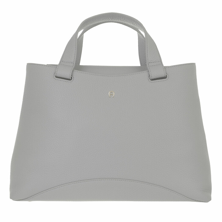 bags, AIGNER, Selma Handbag Slate Grey
