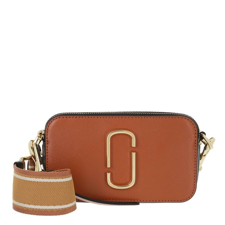 Handtasche, Marc Jacobs, Snapshot Small Camera Bag Saddle/Multi