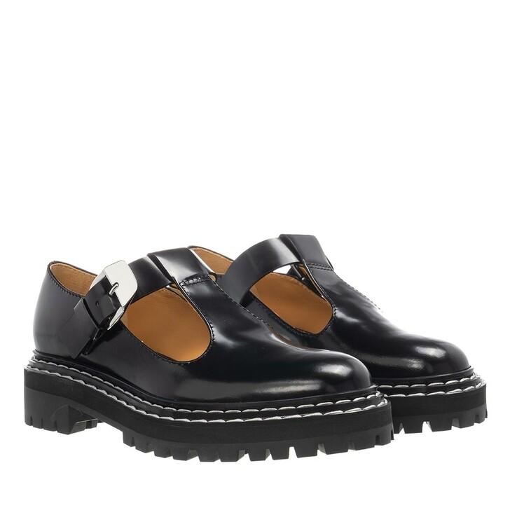 Schuh, Proenza Schouler, Combat Mary Jane Shoes Black