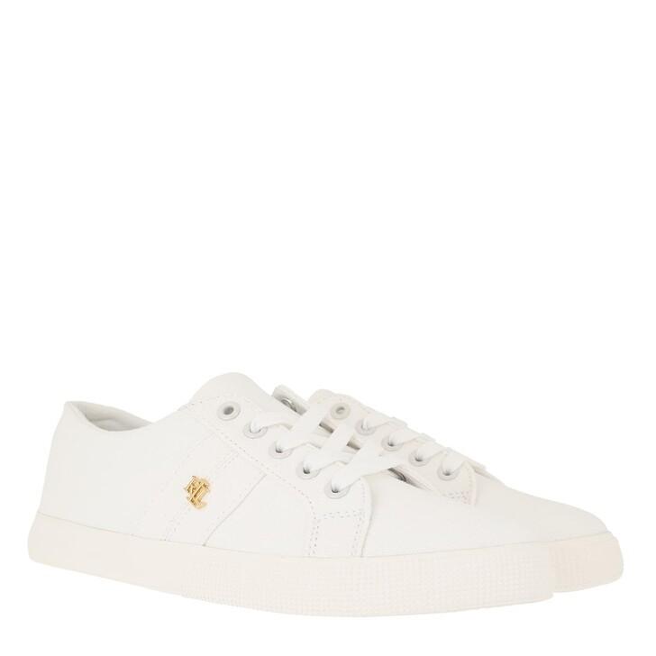 Schuh, Lauren Ralph Lauren, Janson Ii Ne Sneakers Vulc Optic White