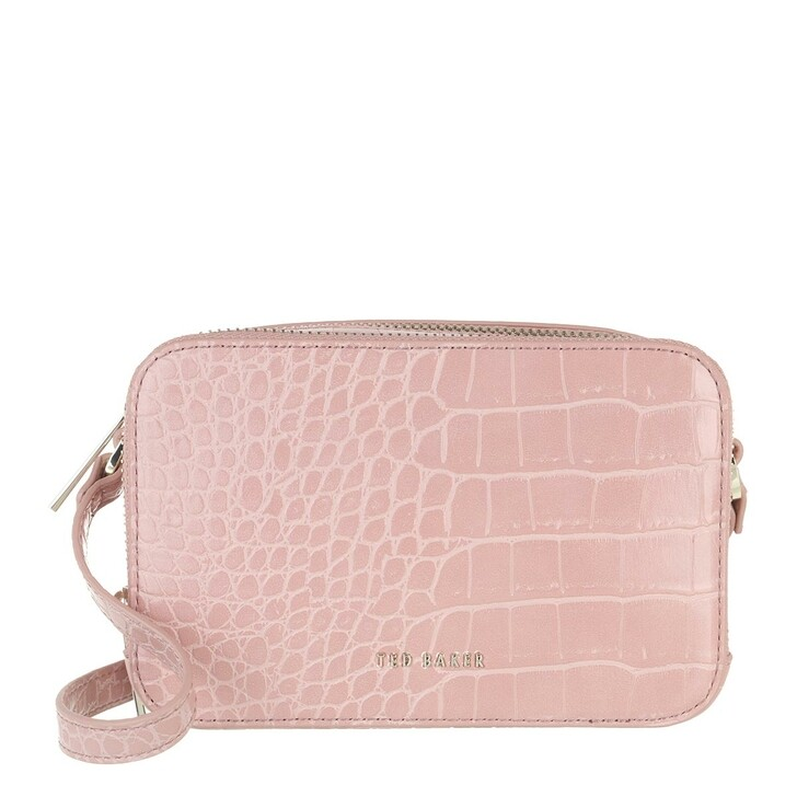 bags, Ted Baker, Stina-Double Zip Mini Camera Bag Mid Pink