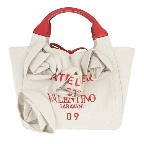 valentino garavani -  Shopper - Medium Atelier Shopper - in beige - für Damen