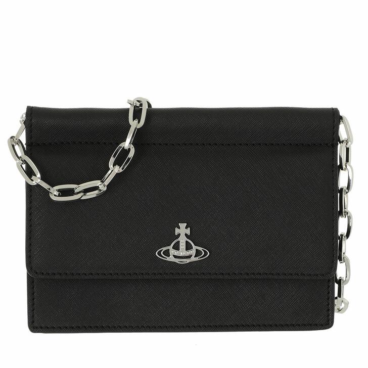 Handtasche, Vivienne Westwood, Derby Chain Belt Purse Black