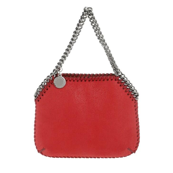 Handtasche, Stella McCartney, Falabella Mini Shoulder Bag Leather Lipstick