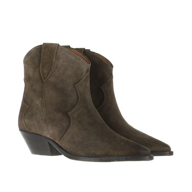 Schuh, Isabel Marant, Dewina Boots Dark Brown