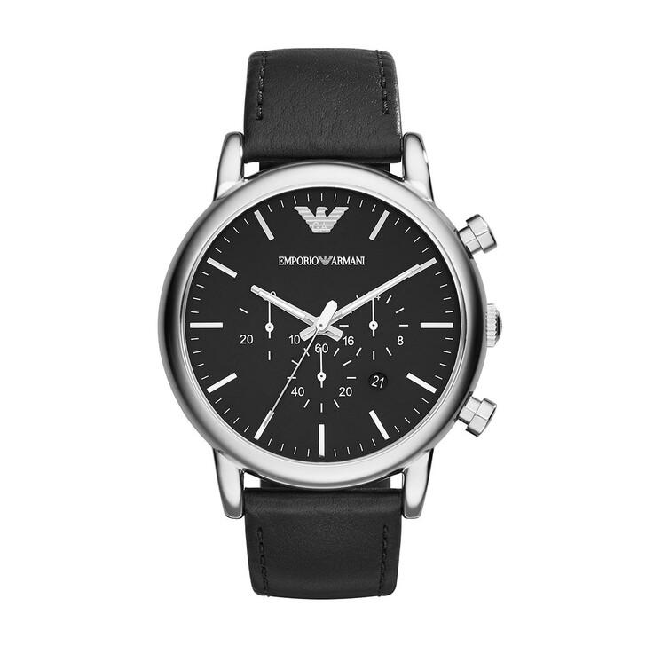 watches, Emporio Armani, Luigi Dress Watch Silver