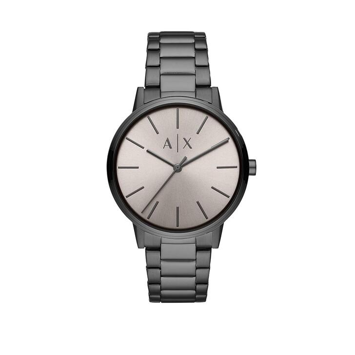 Uhr, Armani Exchange, Men Cayde Smart Watch Gunmetal