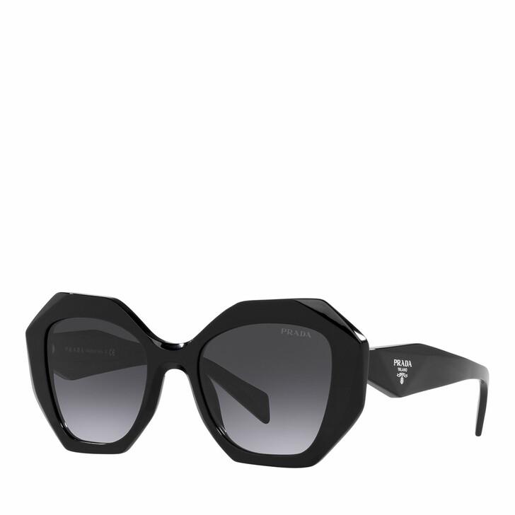 Sonnenbrille, Prada, 0PR 16WS BLACK