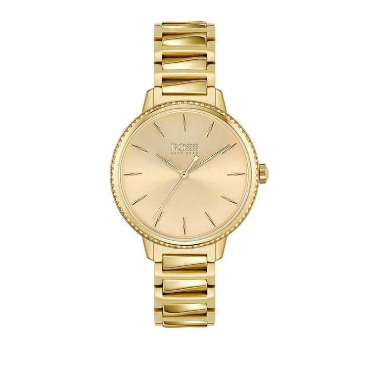 Uhr, Boss, Quartz Watch Yellow Gold