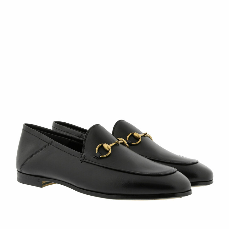 Schuh, Gucci, Horsebit Brixton Loafer Leather Black