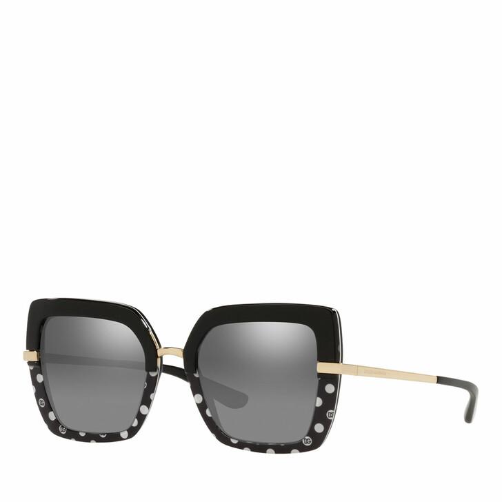 sunglasses, Dolce&Gabbana, Woman Sunglasses 0DG4373 Black/Pois