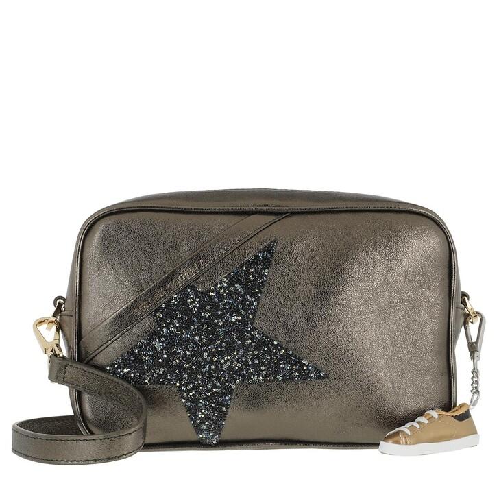 Handtasche, Golden Goose, Star Camera Crossbody Bag Dark Gren
