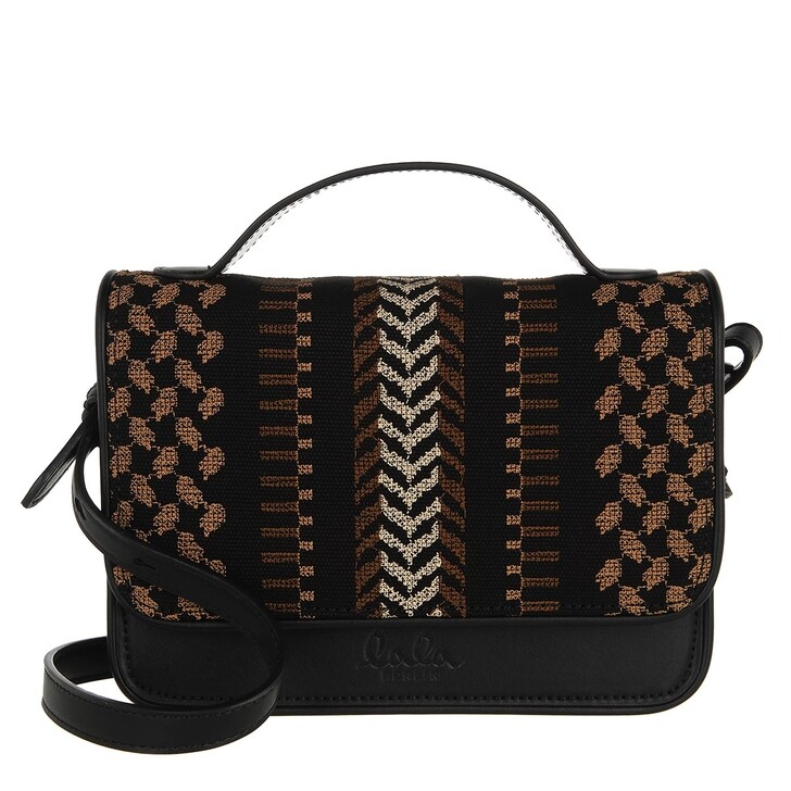 bags, Lala Berlin, Crossbody Silke X-Stitch Black X-Stitch