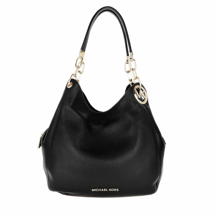 Handtasche, MICHAEL Michael Kors, Lillie Large Chain Shoulder Tote Bag Black