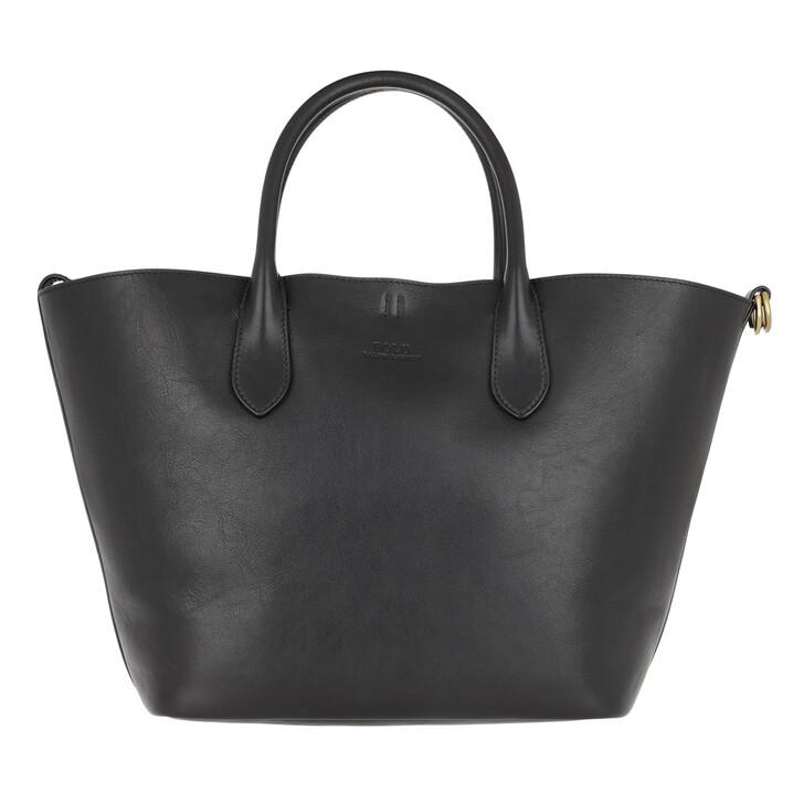Handtasche, Polo Ralph Lauren, Open Tote Medium Black