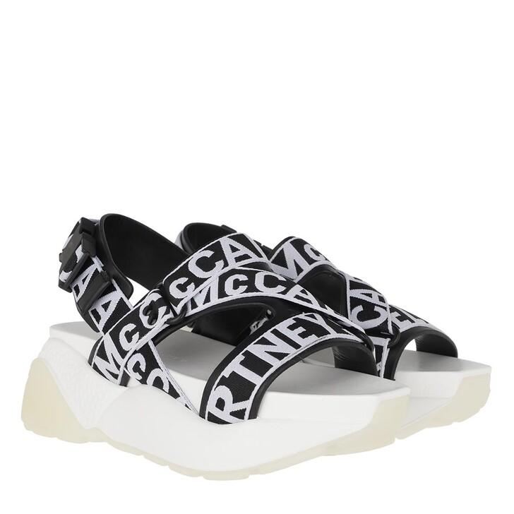 Schuh, Stella McCartney, Eclypse Sandals Black/White