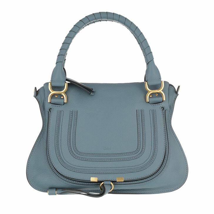 bags, Chloé, Marcie Shoulder Bag Medium Mirage Blue