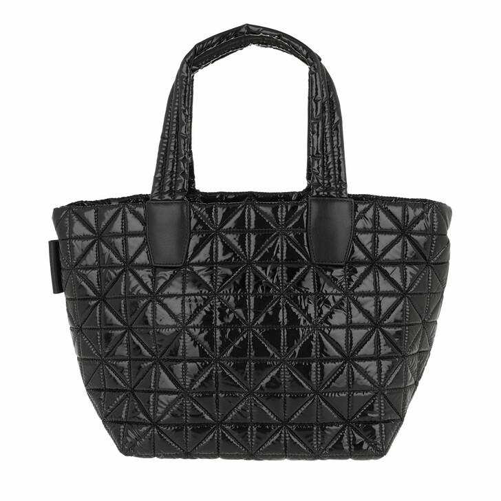 Handtasche, VeeCollective, Small Vee Tote Vinyl Black