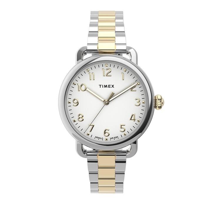 Uhr, Timex, Standard 34mm Watch Bicolour