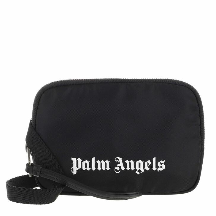 Handtasche, Palm Angels, Essential Beltbag    Black White
