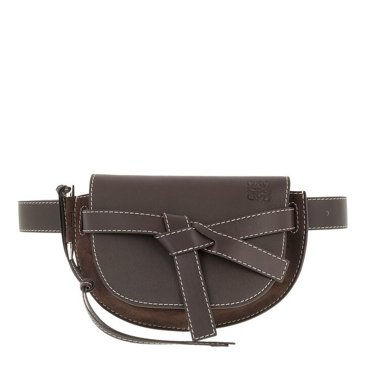 belt_bags, Loewe, Large Gate Belt Bag Chocolate Brown