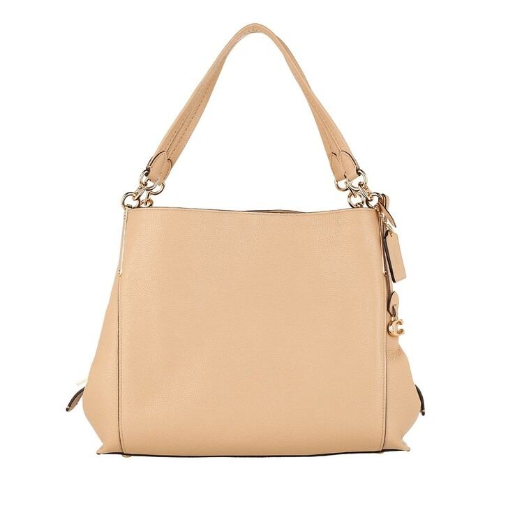 Handtasche, Coach, Dalton Tote Bag Pebbled Leather  Beechwood