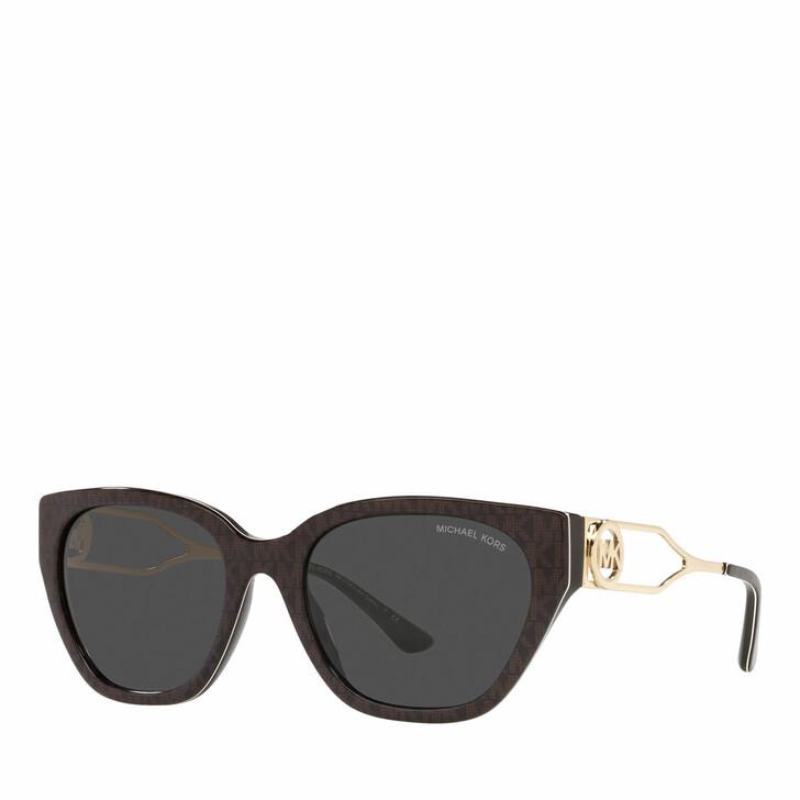sunglasses, Michael Kors, Woman Sunglasses 0MK2154 Brown Signature Pvc