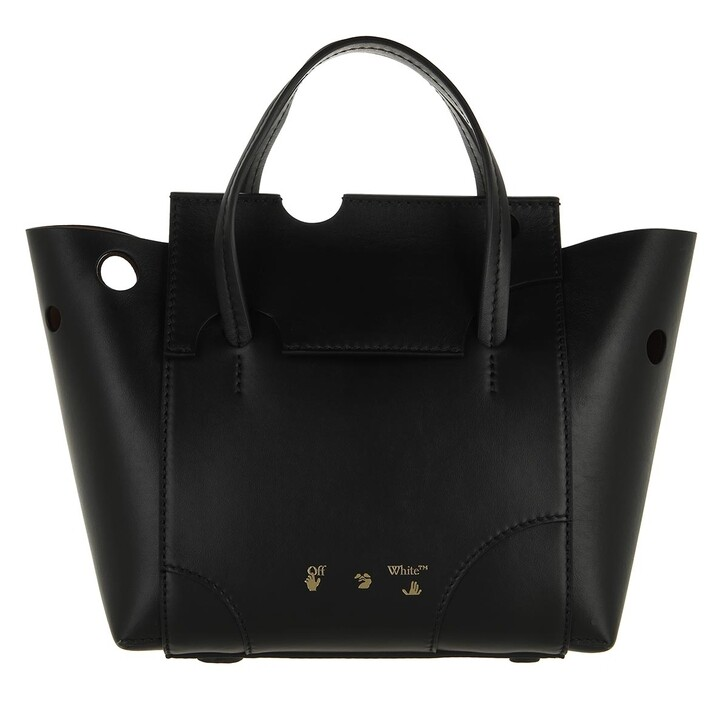 bags, Off-White, Burrow Tote 25 Black