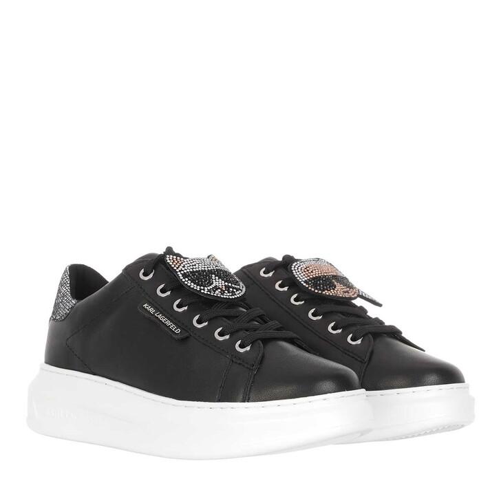 Schuh, Karl Lagerfeld, Kapri Ikonic Twin Lo Lace Sneaker Black