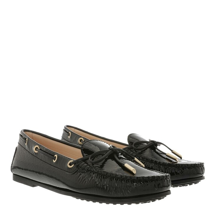 Schuh, Tod's, Gommino Loafer Patent Leather Black