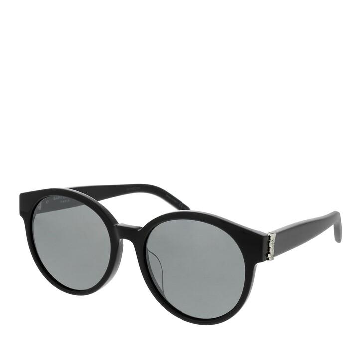 sunglasses, Saint Laurent, SL M31/F-002 55 Sunglass WOMAN ACETATE BLACK