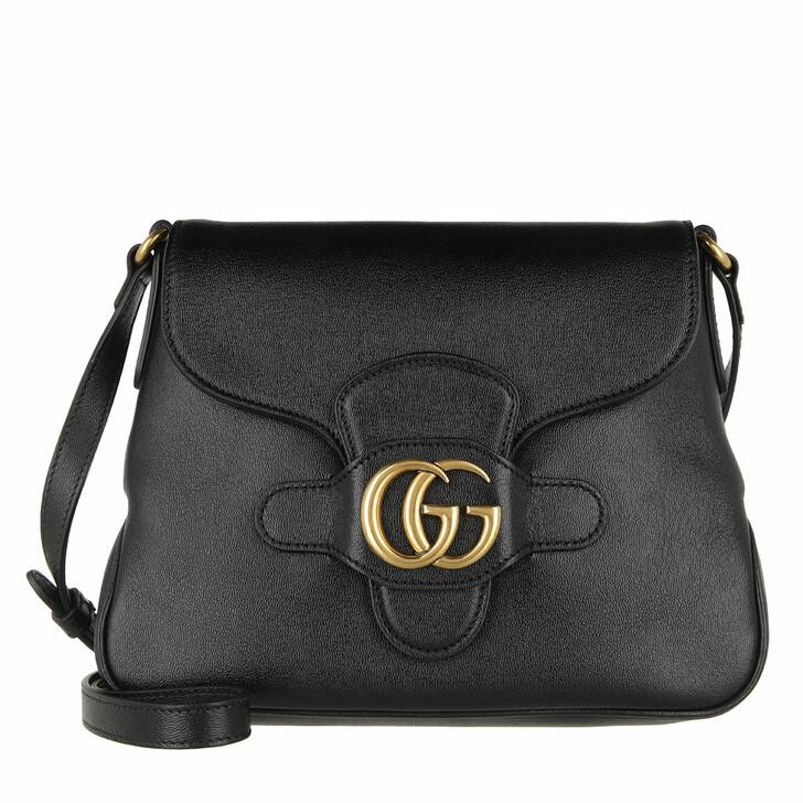 Handtasche, Gucci, GG Dhalia Crossbody Bag Leather Black