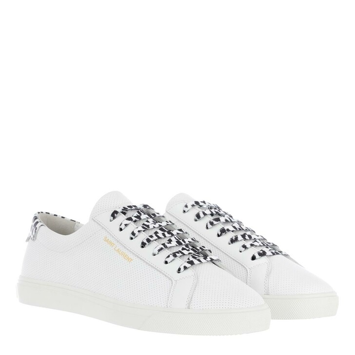 Schuh, Saint Laurent, Sneakers Leather White