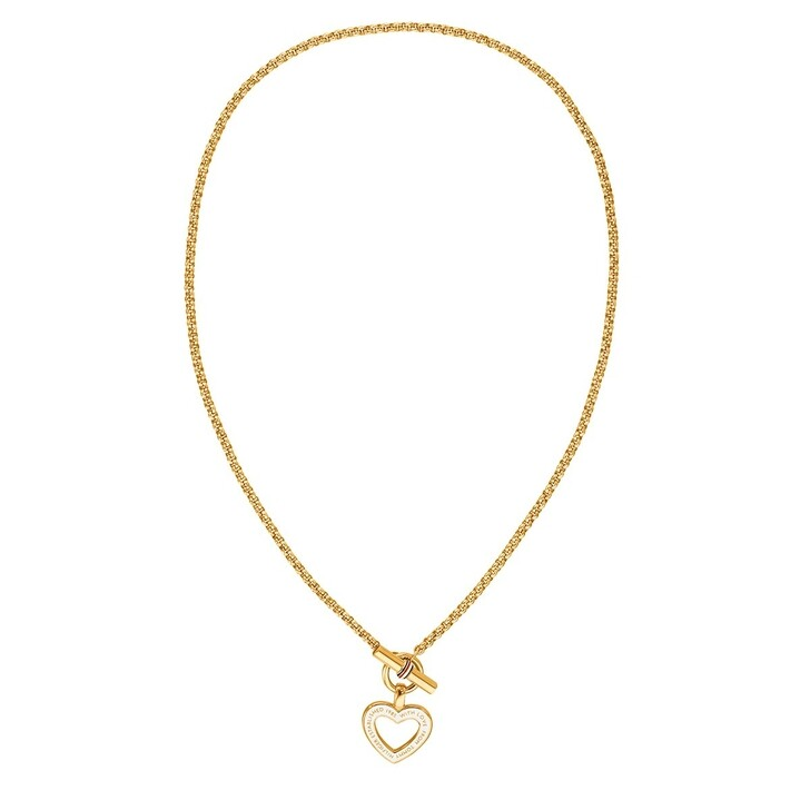 Kette, Tommy Hilfiger, Classic Signature Necklace Gold