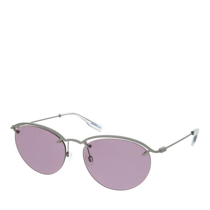 Sonnenbrille, McQ, MQ0314S-003 58 Sunglass WOMAN METAL RUTHENIUM