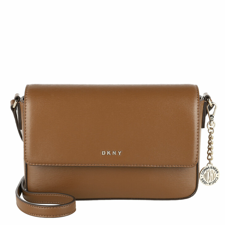 bags, DKNY, Bryant Medium Flap Xbody Caramel