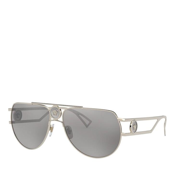 Sonnenbrille, Versace, 0VE2225 PALE GOLD
